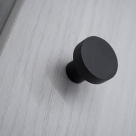 Pomo cajón en negro mate
