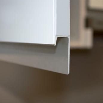 Detalle tirador aluminio
