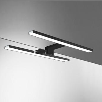 Aplique LED Galicia Negro mate 45 cm