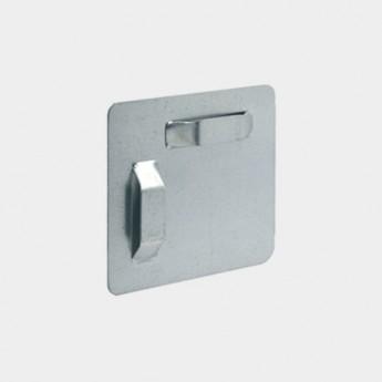 Placa colgador espejo cristal VI-5050-2